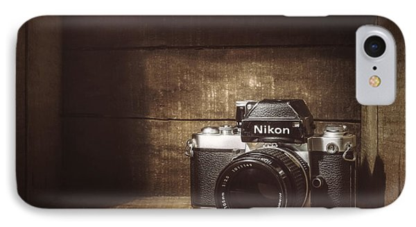 My First Nikon Camera IPhone Case by Scott Norris