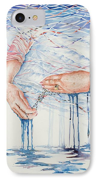 My Mother's Hands Phone Case by Carolyn Coffey Wallace