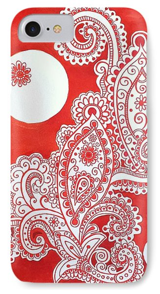 My Name Is Red IPhone Case by John Parish