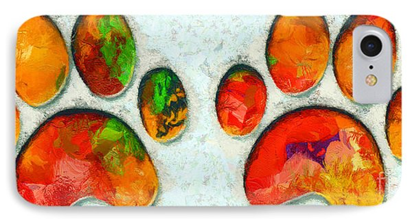 My Cat Paw IPhone Case by Stefano Senise