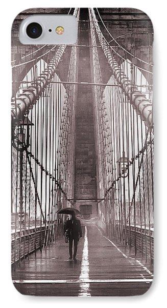Mystery Man Of Brooklyn IPhone Case by Az Jackson