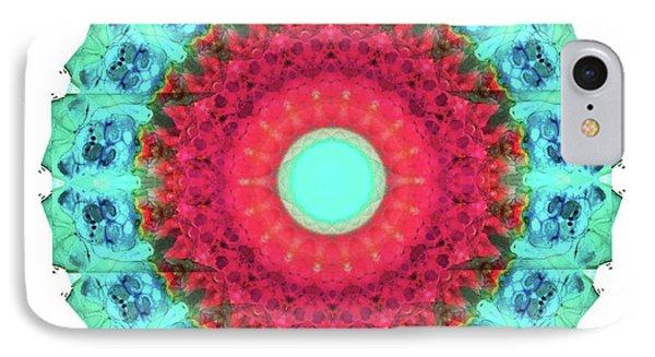 Mystic Circle Mandala - Sharon Cummings  IPhone Case by Sharon Cummings