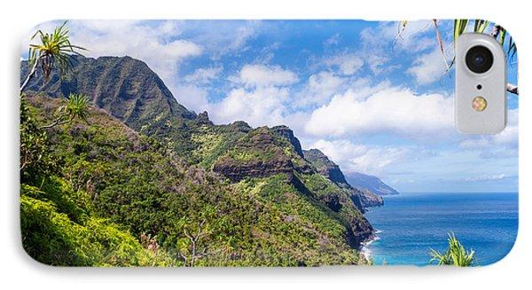 Na Pali Coast Kauai Phone Case by Brian Harig