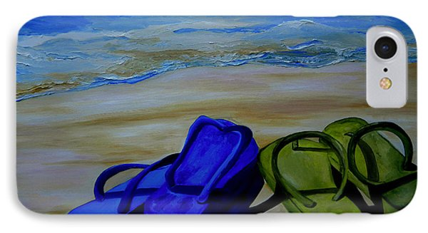 Naked Feet On The Beach IPhone Case by Patti Schermerhorn
