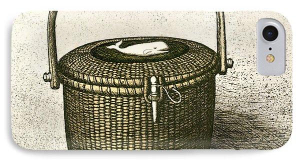 Nantucket Basket IPhone Case by Charles Harden