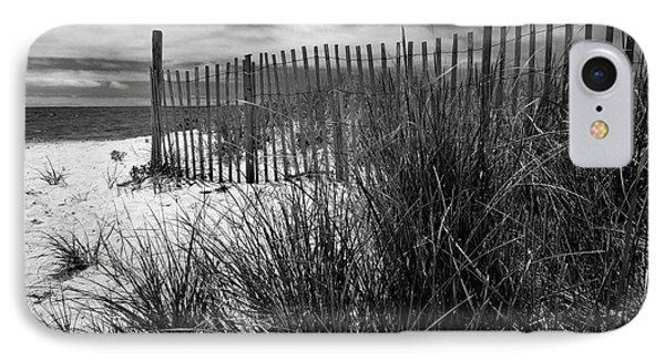 Nantucket Harbor Beach Dunes  IPhone Case by Thomas Schoeller
