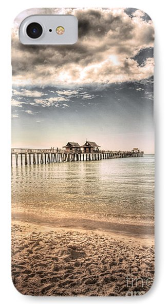Naples Pier IPhone Case by Margie Hurwich
