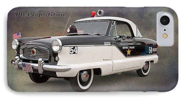 Nash Metropolitan By Darrell Hutto IPhone Case by J Darrell Hutto