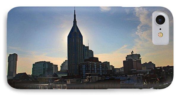 Nashville Skyline Phone Case by Susanne Van Hulst
