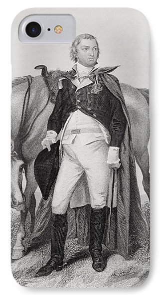 Nathanael Greene 1742-1786. American IPhone Case by Vintage Design Pics