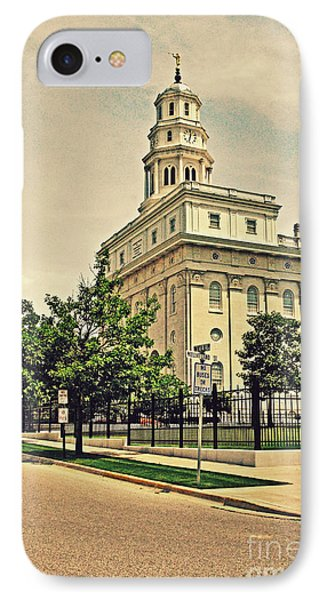 Nauvoo Temple IPhone Case by Gloria Pasko