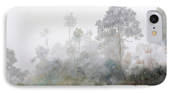 Nebbia Nella Foresta IPhone Case by Guido Borelli