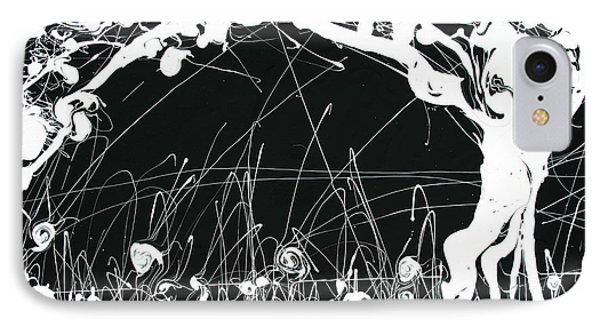 Negative Landscape IPhone Case by Ric Bascobert