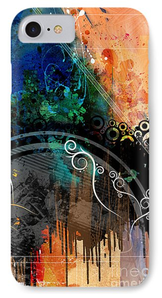 Negative Thoughts Invasion IPhone Case by Bedros Awak
