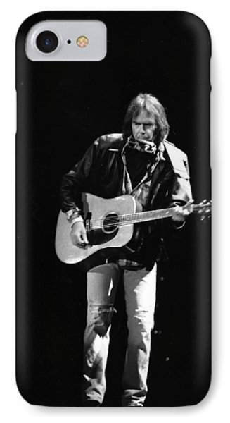 Neil Young IPhone Case by Wayne Doyle