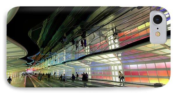 Neon Hall 2 Phone Case by Sven Brogren