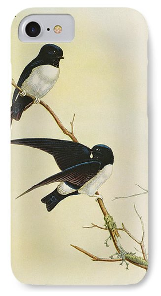 Nepal House Martin IPhone 7 Case by John Gould