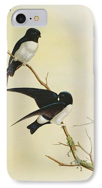 Nepal House Martin IPhone Case by John Gould