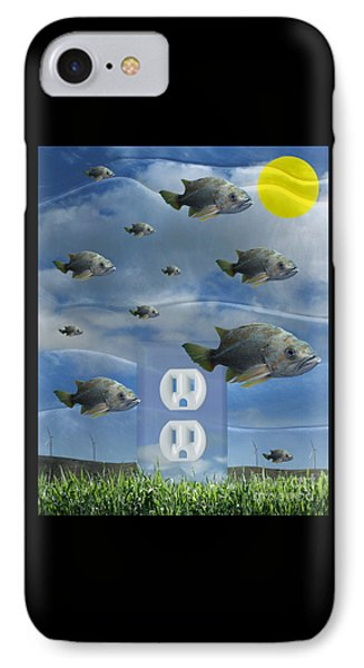 New Energy IPhone Case by Keith Dillon