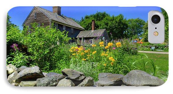 New England Farm House IPhone Case by Juli Scalzi