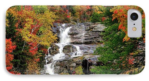New Hampshire Waterfall Phone Case by Betty LaRue
