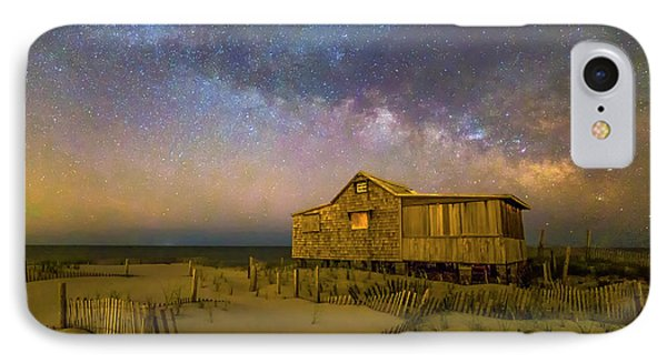 New Jersey Shore Starry Skies And Milky Way IPhone Case by Susan Candelario