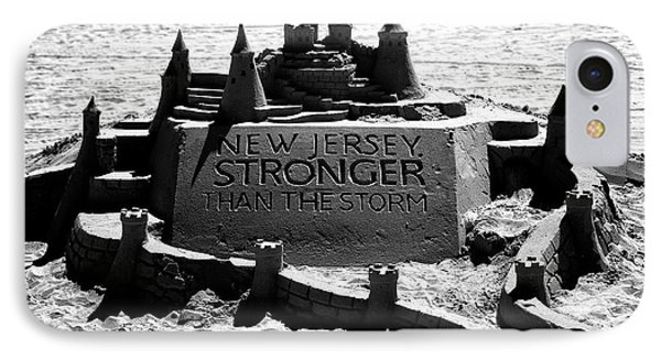 New Jersey Stronger Than Storm IPhone Case by John Rizzuto