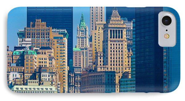 New York City Phone Case by Douglas J Fisher
