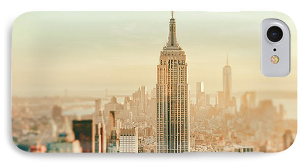 New York City - Skyline Dream IPhone 7 Case by Vivienne Gucwa