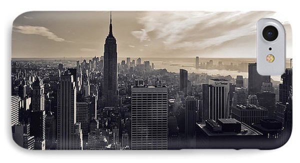 New York IPhone 7 Case by Dave Bowman