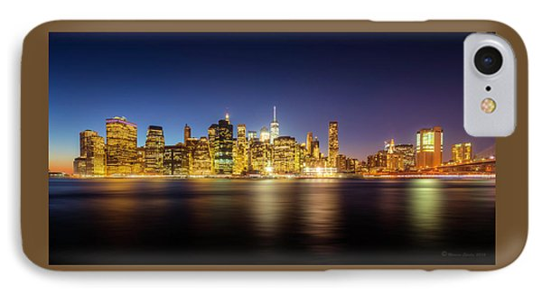 New York Skyline IPhone Case by Marvin Spates