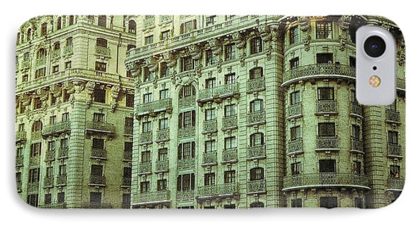New York Upper West Side Apartment Building Phone Case by Amy Cicconi