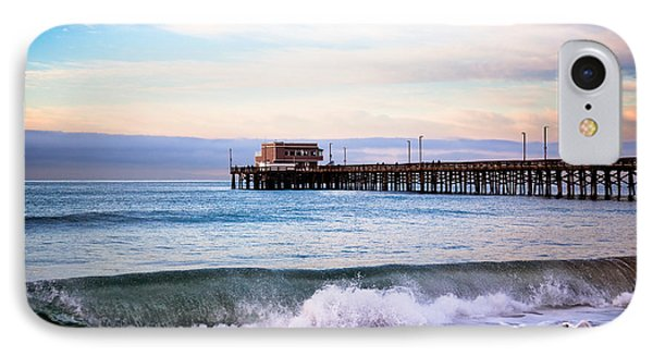 Newport Beach Ca Pier At Sunrise IPhone Case by Paul Velgos