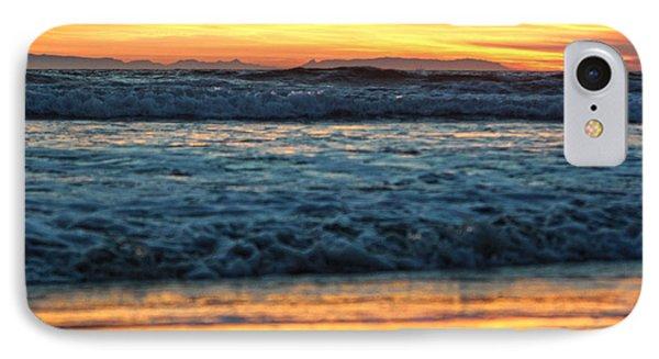 Newport Beach Sunset 1 IPhone Case by Habib Ayat