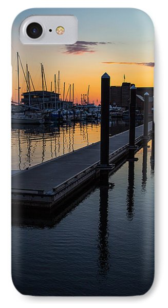 Newports Dusk  IPhone Case by Karol Livote