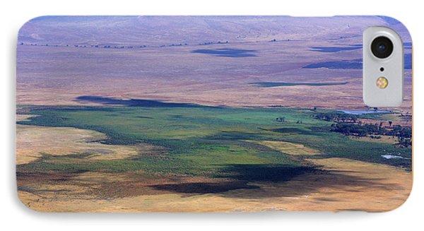 Ngorongoro Crater Tanzania Phone Case by Aidan Moran