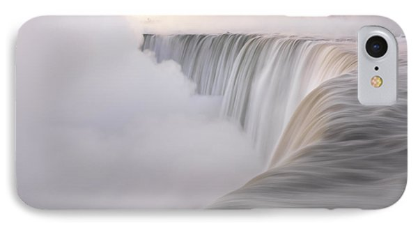 Niagara Falls Beautiful Sunrise In Soft Light Colors IPhone Case by Oleksiy Maksymenko