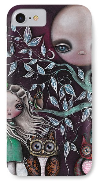 Night Creatures Phone Case by  Abril Andrade Griffith