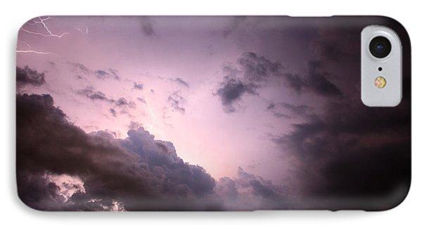 Night Storm Phone Case by Amanda Barcon