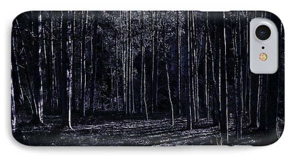 Night Thicket  IPhone Case by Jorgo Photography - Wall Art Gallery