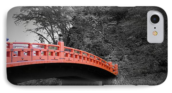 Nikko Red Bridge IPhone Case by Naxart Studio