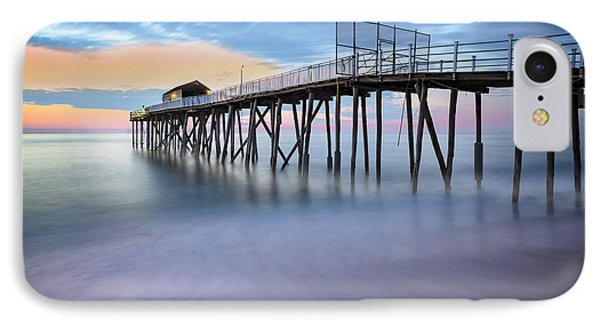 Nj Shore Dawns Early Light Bw IPhone Case by Susan Candelario