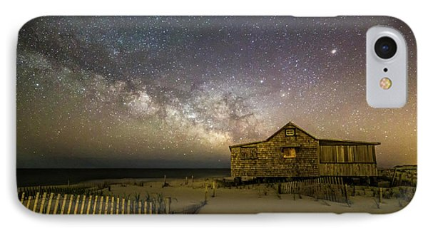 Nj Shore Starry Skies And Milky Way IPhone Case by Susan Candelario