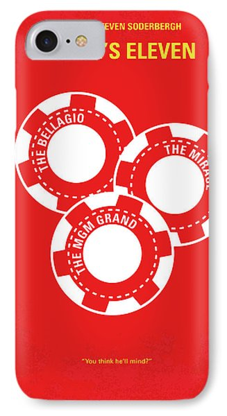 No056 My Oceans 11 Minimal Movie Poster IPhone Case by Chungkong Art