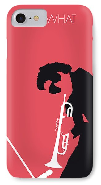 No082 My Miles Davis Minimal Music Poster IPhone Case by Chungkong Art