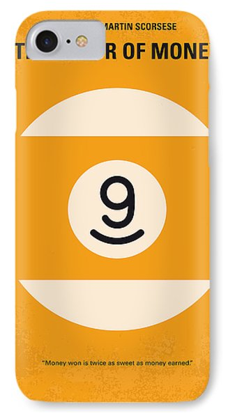 No089 My The Color Of Money Minimal Movie Poster IPhone Case by Chungkong Art