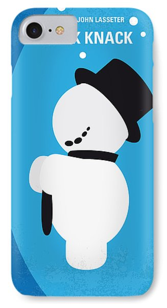 No172 My Knick Knack Minimal Movie Poster Phone Case by Chungkong Art