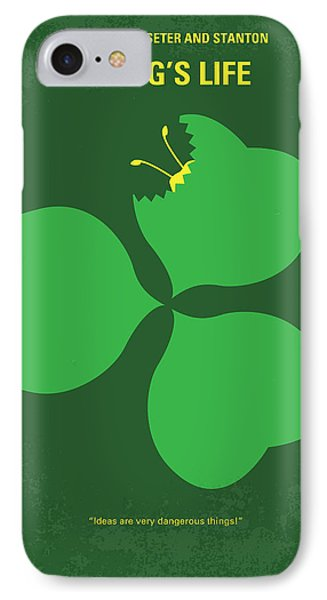 No401 My A Bugs Life Minimal Movie Poster IPhone 7 Case by Chungkong Art