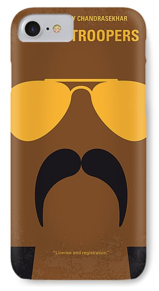 No459 My Super Troopers Minimal Movie Poster IPhone Case by Chungkong Art