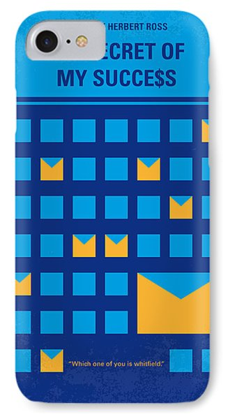 No464 My The Secret Succes Minimal Movie Poster IPhone Case by Chungkong Art